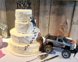 Monster truck wedding